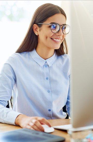 Briller på arbeidsplassen