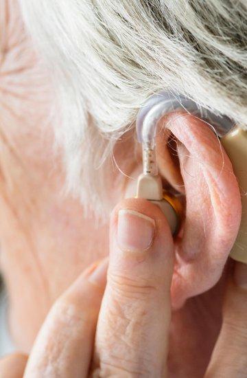 Batterier og tilbehør til høreapparat